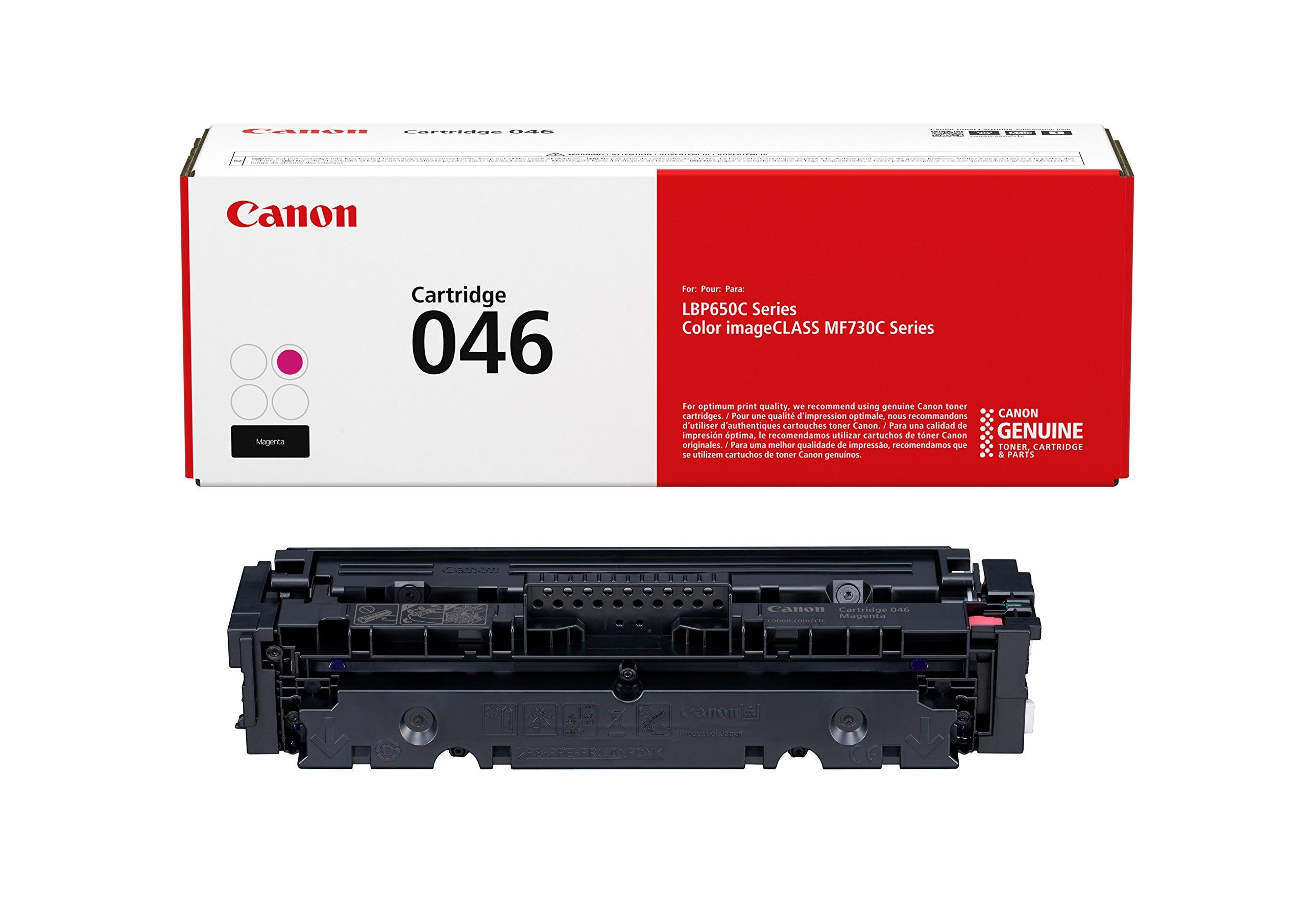 Canon Genuine Toner Cartridge 046 Magenta 1248C001 1 Pack for Canon Color imageCLASS MF735Cdw MF733Cdw MF731Cdw LBP654Cdw Laser Printers