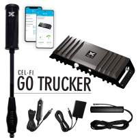 Cel-Fi GO Trucker | Mobile Cellular Signal Booster for Trucks, Semis and Long Distance Driving | Approved for use on All Major US Carriers