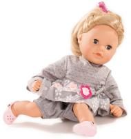 "Gotz Cosy Aquini 13"" Soft Cloth Bath Baby Doll with Blond Hair and Blue Sleeping Eyes"