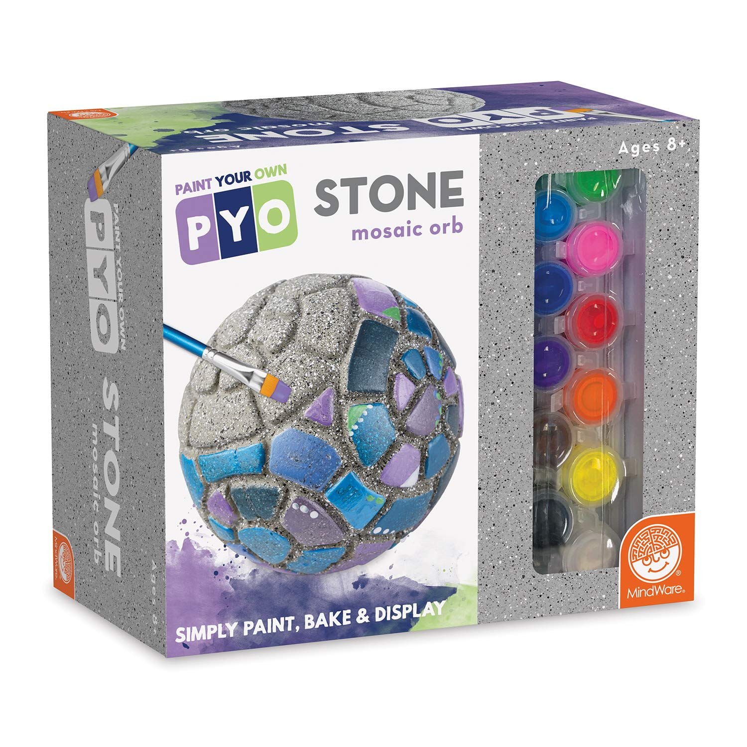 MindWare Paint Your Own Stone: Mosaic Orb
