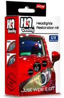 H&A QUALITY Headlight Restoration Kit, Car Headlights Lens Detailing Cleaning Wipes with UV Protectant Clear Top Coat, Headlights Polishing Wipe to Remove Haze and Shine Dull Headlights