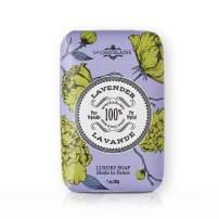 La Chatelaine Luxury French Bar Soap   Natural Shea Butter Formula (Lavender, 7 oz)
