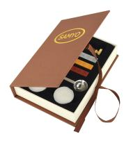 Samyo Wax Seal Stamp Kit Retro Creative Sealing Wax Stamp Maker Gift Box Set Brass Color Head with Vintage Classic Alphabet Initial Letter (L)