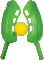 """Water Sports Outdoor Pool and Beach Scoop Ball Set (Colors May Vary), 17"""" x 5.5"""""""
