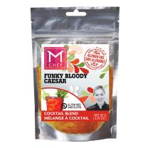 FUNKY BLOODY CAESAR MCHEF Spices - Bloody Mary Mix - Natural, filler-free, gluten-free, gmo-free, Kosher and a Lemon Paradise