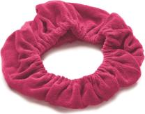 TASSI (Hot Pink) Hair Holder Head Wrap Stretch Terry Cloth, The Best Way To Hold Your Hair Since...Ever!