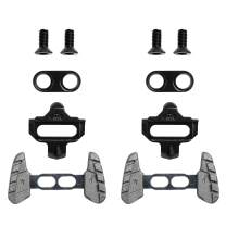 Bike Cleats Compatible with Shimano SPD SM-SH51 - Indoor Cycling, Spinning & Mountain Bike Bicycle - Clips for Spin Shoes (Single Release) with Walking Adapters Wings