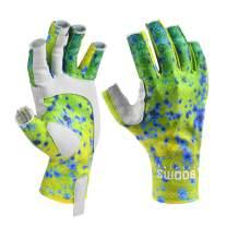 Booms Fishing FG2 Fingerless Gloves Fishing Sun Gloves