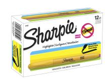 Sharpie 27005 Accent Pocket Style Highlighter, Yellow, 12-Pack