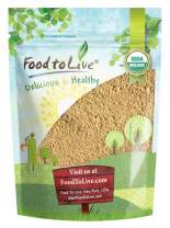 Organic Garlic Powder, 4 Ounces - Non-GMO, Kosher, Raw, Dried, Bulk