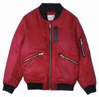 maoo garden Boys/Girls Bomber Jacket Thick Spring Baseball Flight Family Midweight Coat