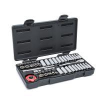 "GEARWRENCH  51 Pc. 1/4"" Drive 6 Point Standard & Deep SAE/Metric Mechanics Tool Set - 80300"