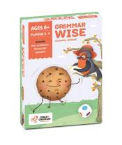 Chalk and Chuckles Grammar Wise - Educational Game for Classrooms and Home, Colorful and Fun Language Game. Learn Parts of Speech Ages 6 to 9 Years Old