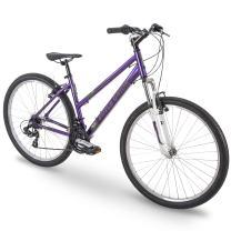 "27.5"" Royce Union RMT Womens 21-Speed All-Terrain Mountain Bike, 17"" Aluminum Frame, Twist Shift, Eggplant Purple"