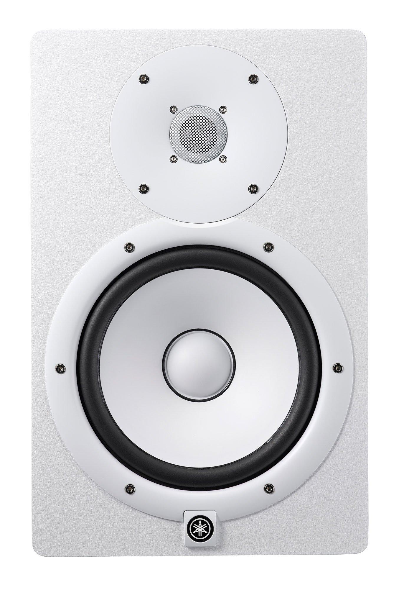 Yamaha HS8 W 8-Inch Powered Studio Monitor Speaker, White