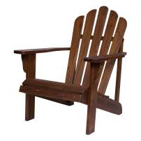 Shine Company 4621OA Westport II Hydro-TEX Finish, Oak Adirondack Chair