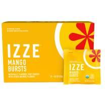 Izze Bursts Organic Fruit Snacks, Mango, 0.8oz Pouches, (18 Pack)