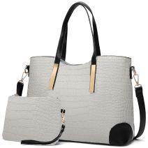 YNIQUE Satchel Purses and Handbags for Women Shoulder Tote Bags Wallets