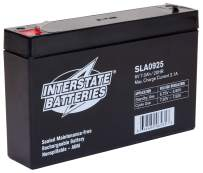 Gallagher A670 6V Electric Fence Gel Cell Battery