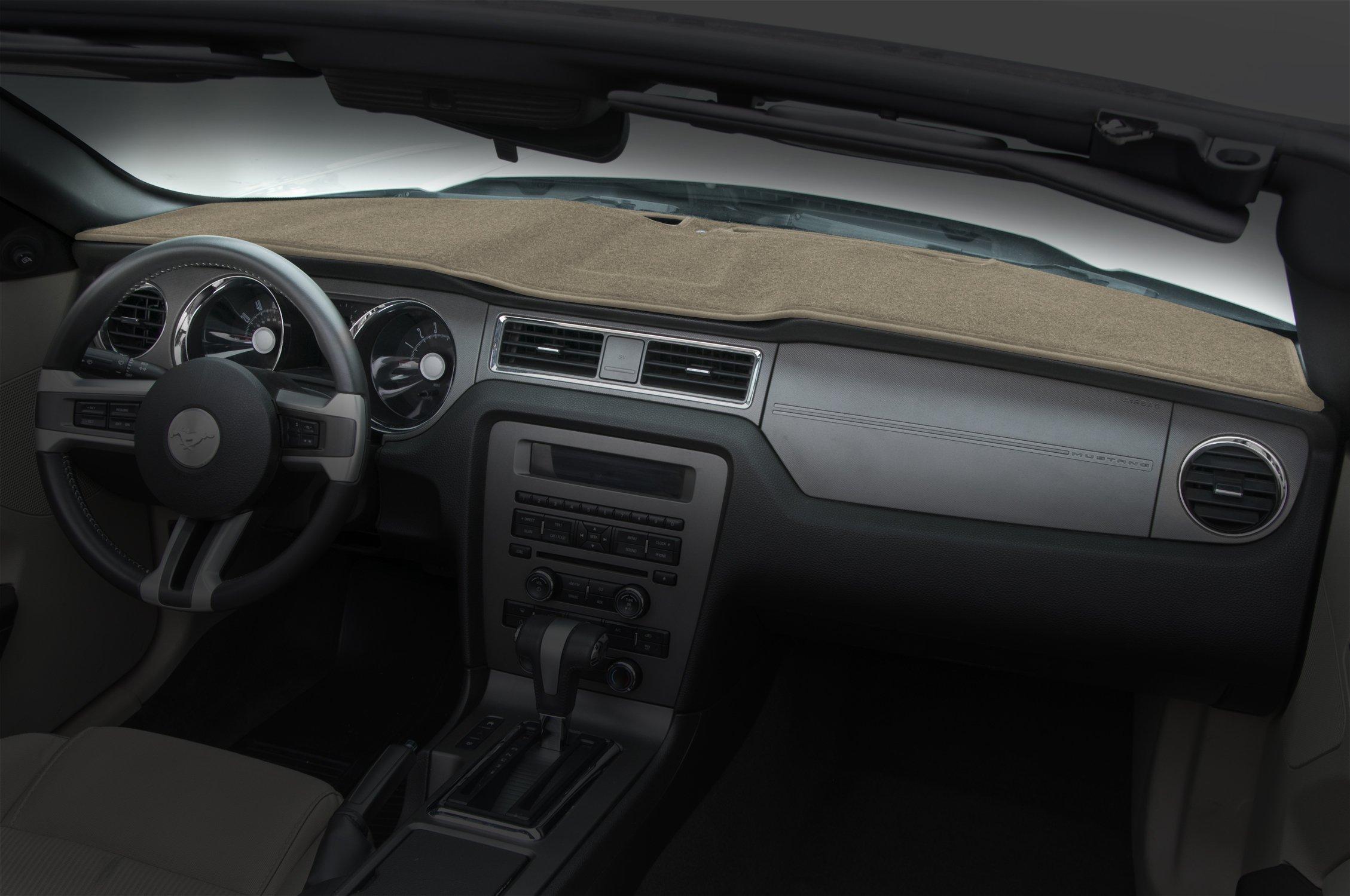 Coverking Custom Fit Dashcovers for Select Pontiac Torrent Models - Poly Carpet (Beige)
