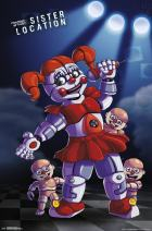 "Trends International Five Nights at Freddy's: Sister Location - Baby, 22.375"" x 34"", Premium Unframed"