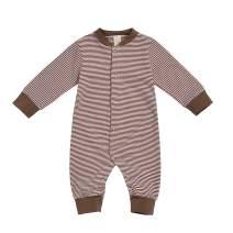 GRNSHTS Newborn Baby Boys Girls Stripe Sleeveless Romper Black and White One Piece Bodysuit