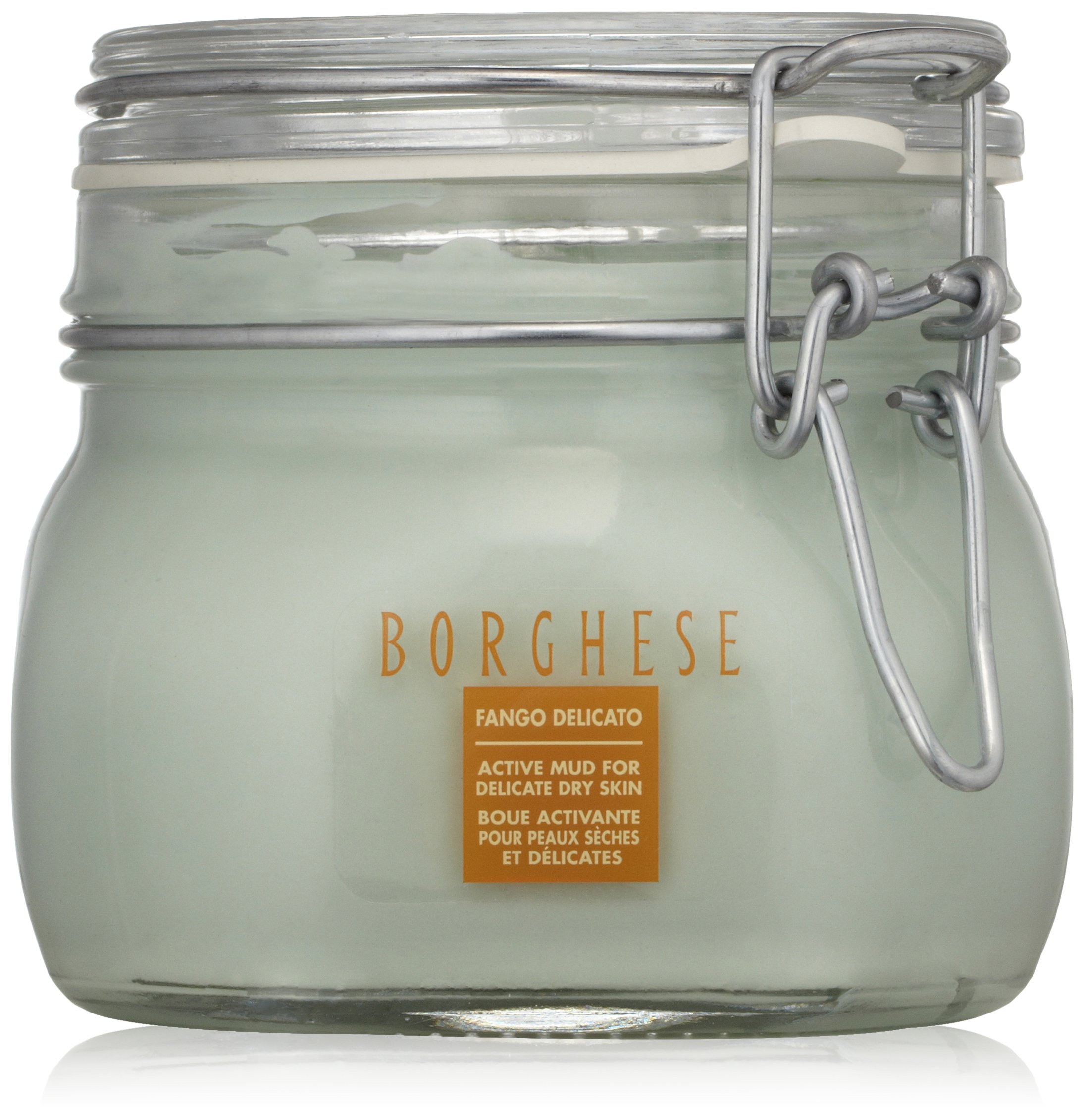 Borghese Italian Fango Delicato Mud Mask for Delicate Dry Skin Improve Skin's Texture and Boost Suppleness