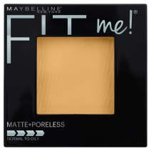 Maybelline New York Fit Me Matte + Poreless Powder Makeup, Sun Beige, 0.29 Ounce, Pack of 1