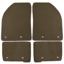Coverking Front and Rear Floor Mats for Select Honda Accord Models - 70 Oz Carpet (Oak)