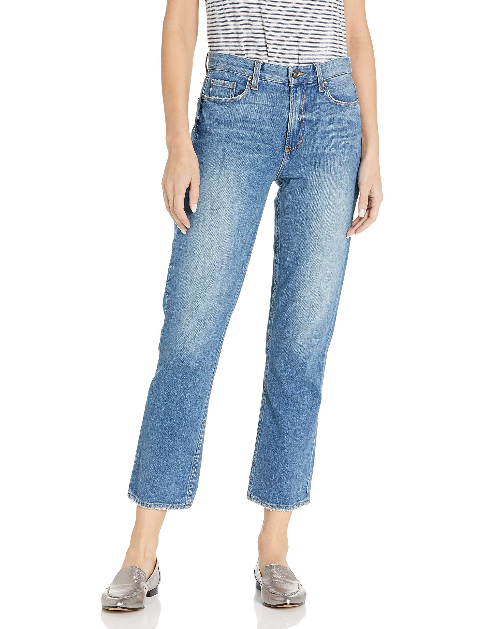 PAIGE Women's High Rise Sarah Slim Jeans