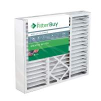 FilterBuy 21x24.5x5 Rheem Ruud PD540014, PD540020 Compatible Pleated AC Furnace Air Filters (MERV 13, AFB Platinum). Fits air cleaner models RXHF-E24AM10 RXHF-E24AM13. 1 Pack.