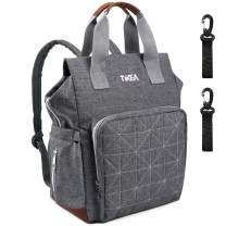 Tikea Baby Changing Backpack - Diper Bag Mom Dad Nappy Bag, Baby Shower Gifts