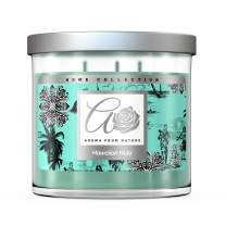Aroma From Nature Hawaiian Hula 14 oz Home Collection Scented Candle - 1 Pack - Aromatherapy Candles - Home Fragrance - Apothecary Glass With Triple Wick