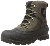 Sorel - Men's Buxton Lace Waterproof Winter Boot, Major, Black, 11.5 M US