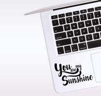 World Design You are My Sunshine Laptop Corner Decal