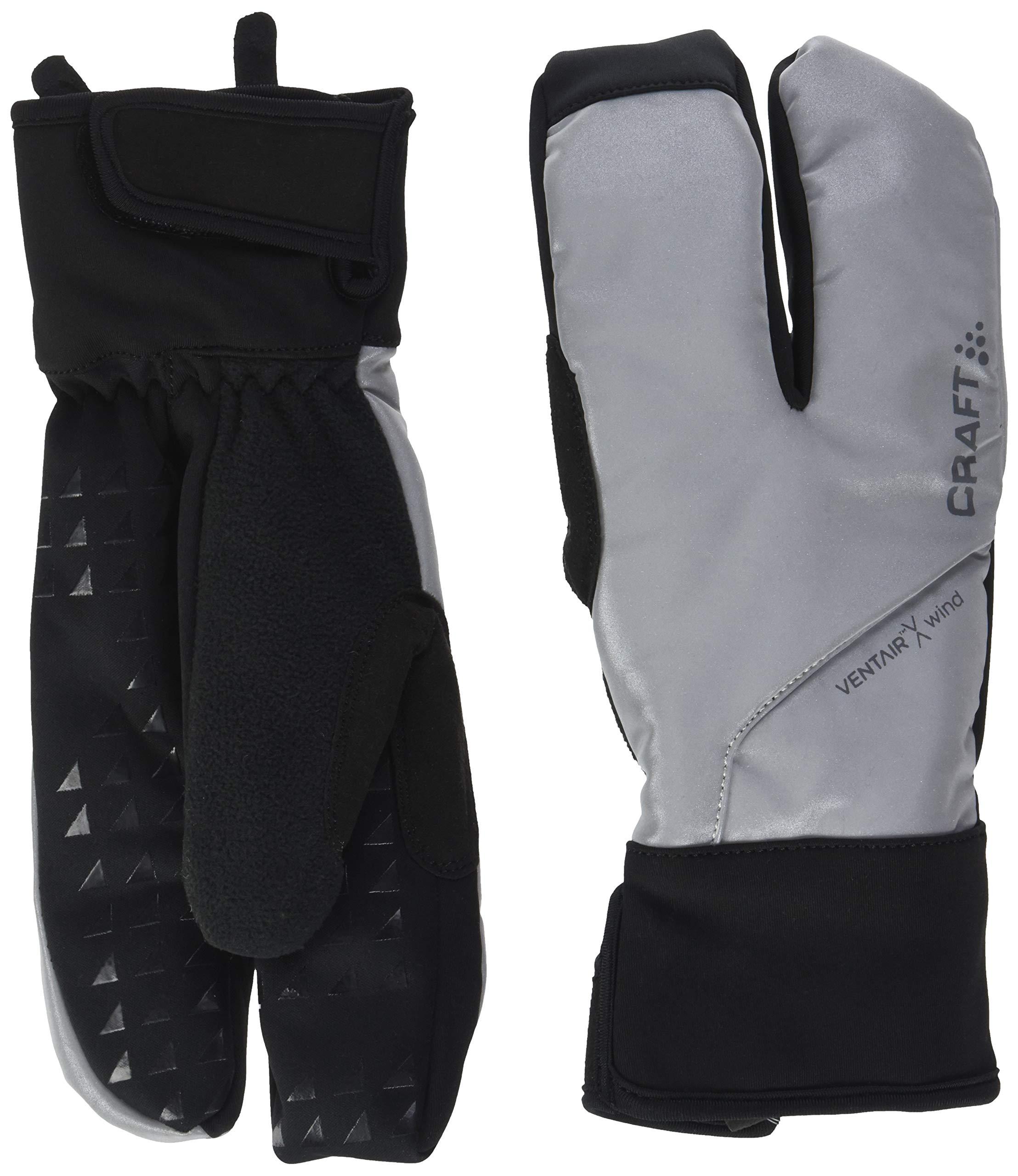 Craft Sportswear Unisex Siberian Split Finger Wind & Waterproof Bike & Cycling Gloves