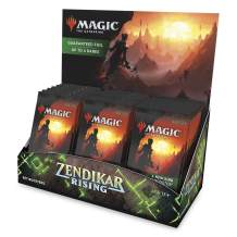 Magic: The Gathering Zendikar Rising Set Booster Box | 30 Packs (360 Cards) + 1 Box Topper | Foil in Every Pack