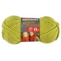 Bernat Softee Chunky Yarn, Grass, Single Ball