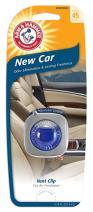 Arm & Hammer AH8200NEC Vent Clip Air Freshener, New Car, Pack of 1