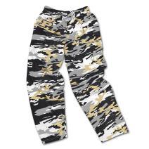 Zubaz Mens Officially Licensed NCAA Camo /& Zebra Print Team Logo Casual Active Pants