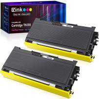 E-Z Ink (TM) Compatible Toner Cartridge Replacement for Brother TN350 TN-350 TN 350 to use with Intellifax 2820 Intellifax 2920 HL-2070N HL-2040 DCP-7020 MFC-7820n (Black, 2 Pack)
