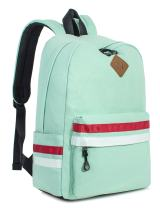 Leaper Classic Laptop Backpack Travel Bag School Backpack Daypack Water Blue