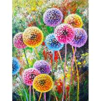 DIY 5D Diamond Painting Kit for Adult Kids,Full Drill Embroidery Cross Stitch Picture Supplies Arts Craft for Home Wall Decor Wall Decoration Paint