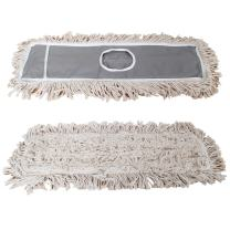 """JINCLEAN 2 Pack of 24"""" Cotton Refills for Industrial Class Floor Dust mop Series Can be fit with Others (2 Pack of 24 Cotton Refill)"""