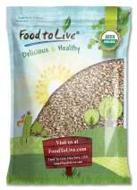 Organic Sunflower Seeds, 12 Pounds - Kernels, Non-GMO, Kosher, Raw, No Shell, Vegan, Bulk