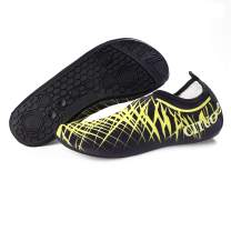 BETTERLINE Water Shoes Men Women Aqua Shoes Barefoot Quick-Dry Swim Shoes for Boating Walking Driving Beach Yoga