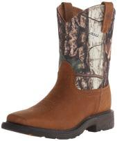 Ariat Kids' Workhog Wide Square Toe Western Cowboy Boot