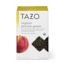Tazo Peachy Green Tea Organic- 20 Bag