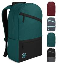 Simple Modern Legacy Backpack with Laptop Compartment Sleeve - 25L Travel Bag for Men & Women College Work School - Moonlight (Color Blocked)