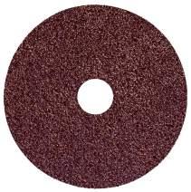 """Weiler 59575 Wolverine Aluminum Oxide Resin Fiber Sanding & Grinding Disc, 4-1/2"""" Diameter, 50 Grit, 7/8"""" Arbor Hole, (Pack of 25)"""